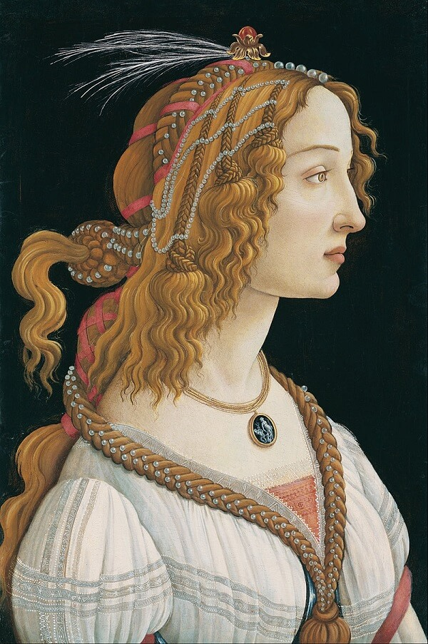 Portrait of a Young Woman, 1485 by Sandro Botticelli