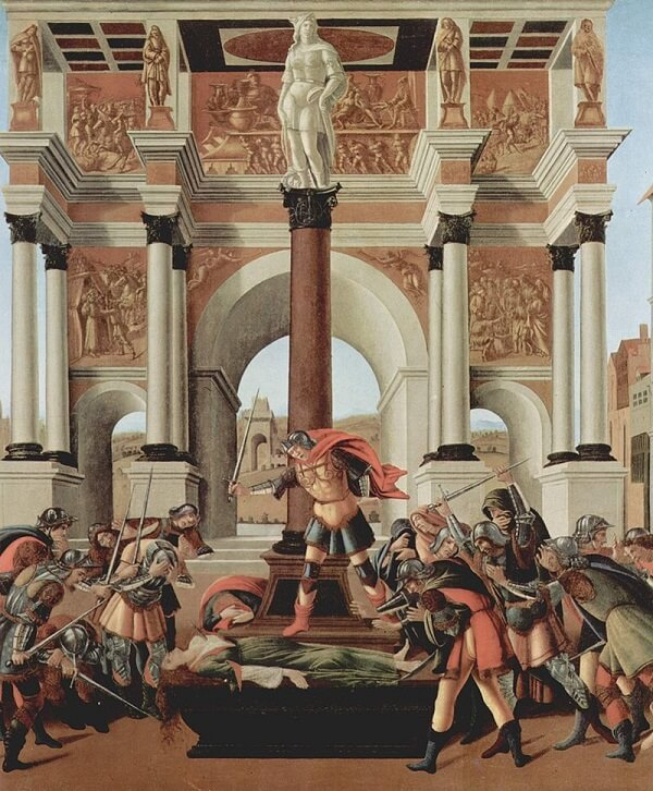 The Story of Lucretia, 1504 by Sandro Botticelli