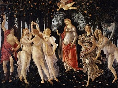 Primavera, 1482 by Sandro Botticelli